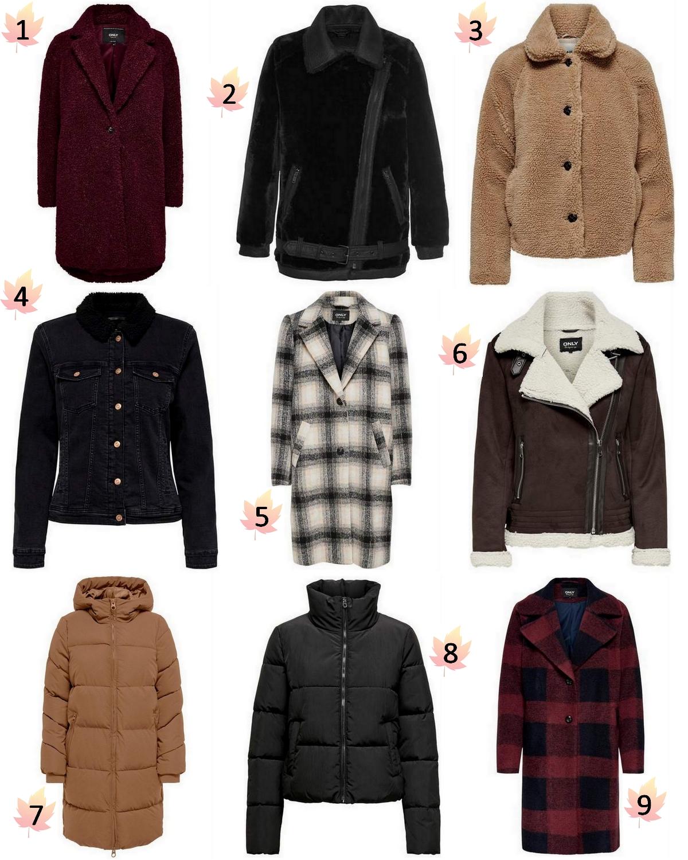 Make people stare winterjas 2020 jassen trend herfst winterjassen puffer jacket geruite mantel teddy coat faux fur fluffy imitatiebont jasjes mode inspiratie OTTO ONLY