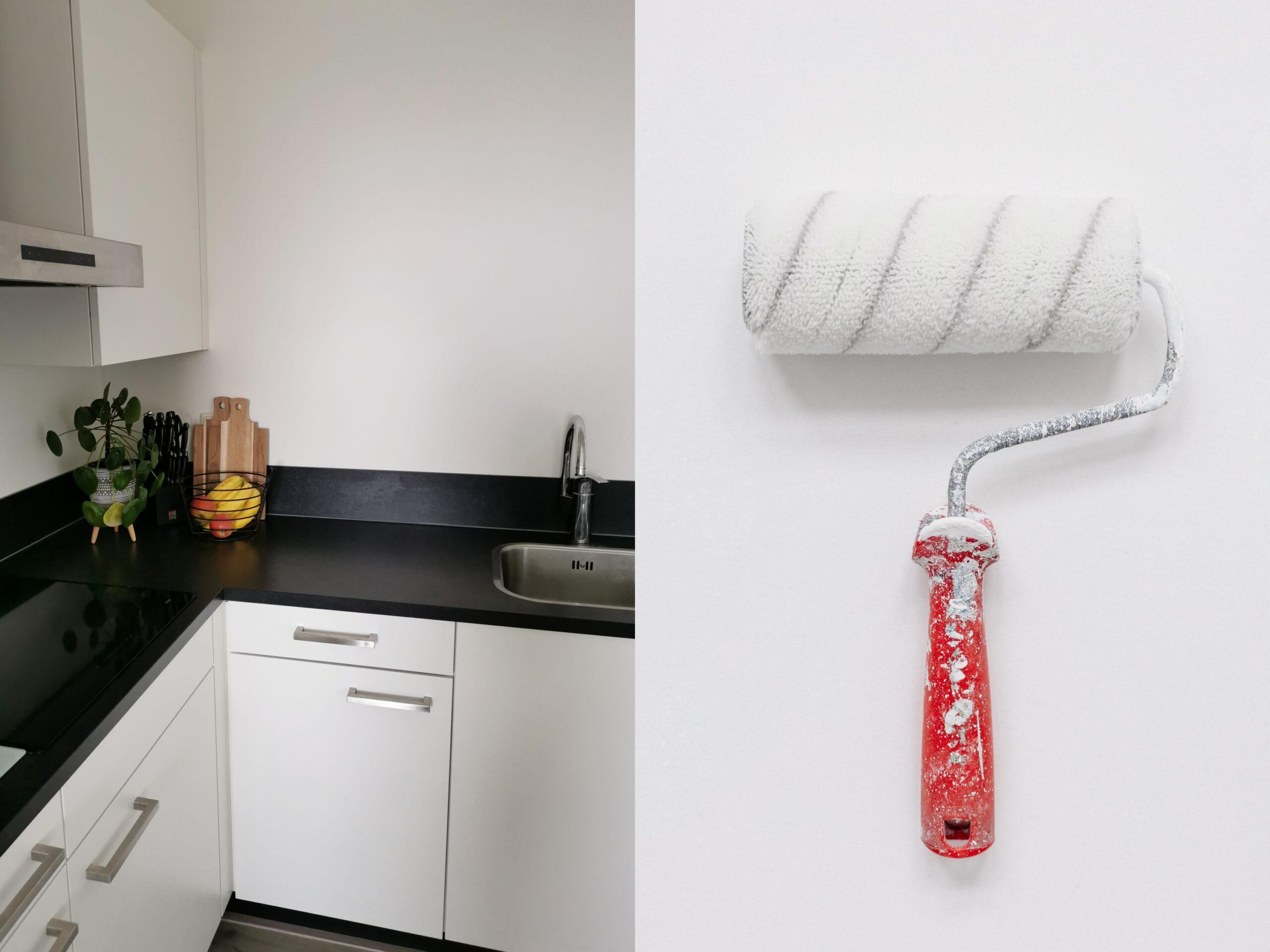 keukenverf muurverf beschermen met coating trae lyx naturel finish verf.nl keuken schilderen tips